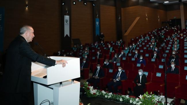 Cumhurbaşkanı Erdoğan: Üniversitemiz iftihar ettiğimiz bir düzeye geldi