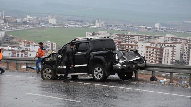 Şırnak-Cizre kara yolunda zincirleme kaza