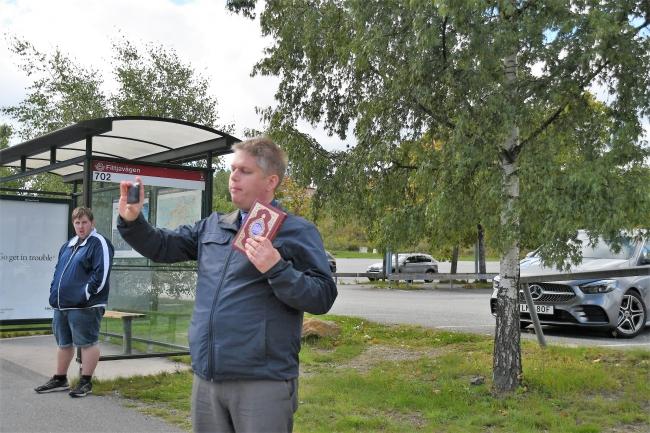 Danimarkalı İslam karşıtı aşırı sağcı Sıkı Yön (Stram Kurs) lideri Rasmus Paludan | Fotoğraf: AA