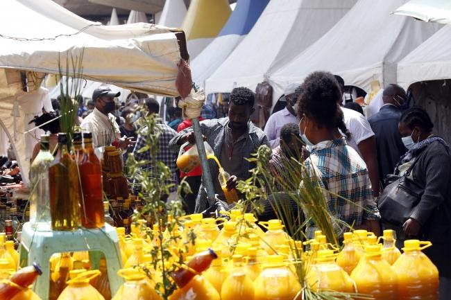 Etiyopya'da yeni yıl hazırlıklarından | Fotoğraf: AA