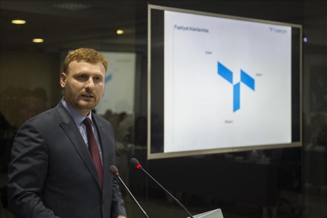 Türksat Genel Müdür Yardımcısı Abdülkadir Şener.