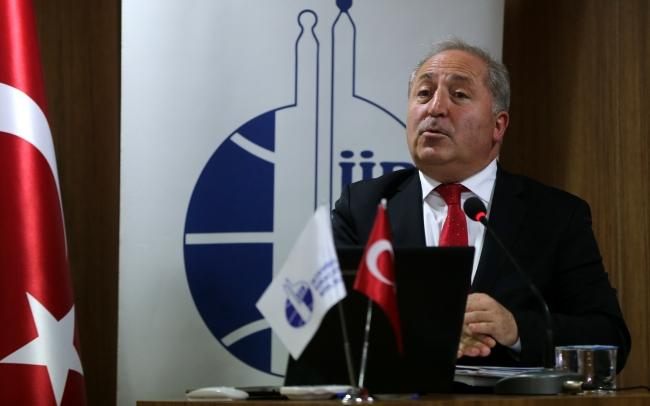İFMİB Yönetim Kurulu Başkanı Ali Haydar Gören. Foto: AA