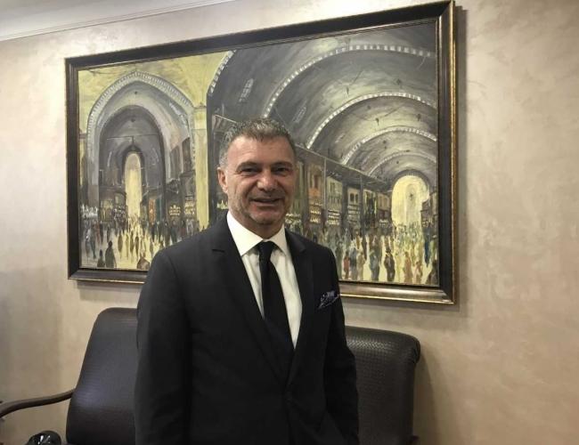 İstanbul Kuyumcular Odası Başkanı Mustafa Atayık. Foto: AA