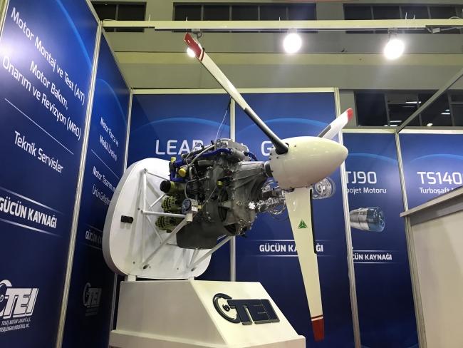 Aksungur'un rekor uçuşunda, yerli olarak geliştirilen PD-170 motorunun da büyük katkısı oldu. Foto: AA