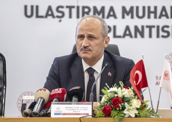 Ulaştırma ve Altyapı Bakanı Cahit Turhan - Fotoğraf: AA (Arşiv)