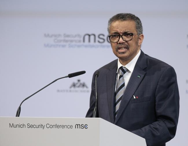 Dünya Sağlık Örgütü Genel Direktörü Dr. Tedros Adhanom Ghebreyesus | Fotoğraf: AA