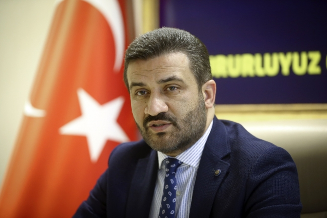 Fotoğraf: AA - MKE Ankaragücü Başkanı Fatih Mert
