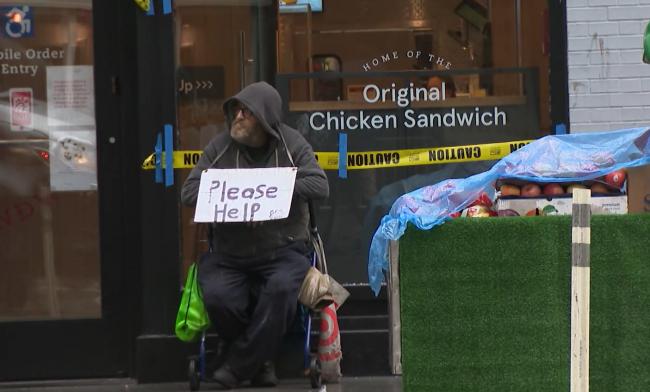 """ABD'nin """"evsizler"""" sorunu"""