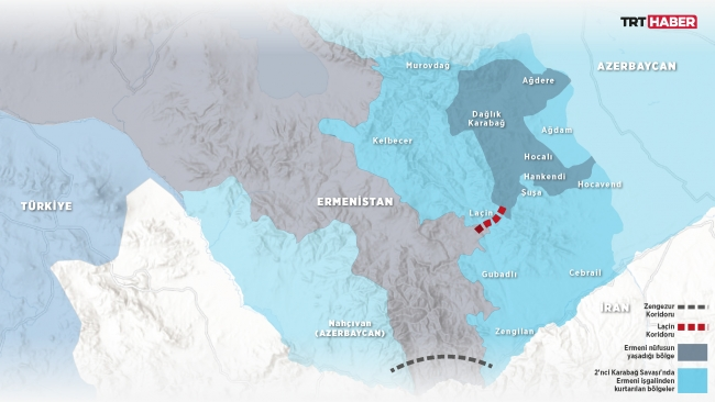 Harita: TRT Haber / M. Furkan Terzi