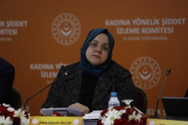 Aile, Çalışma ve Sosyal Hizmetler Bakanı Zehra Zümrüt Selçuk. Fotoğraf: DHA