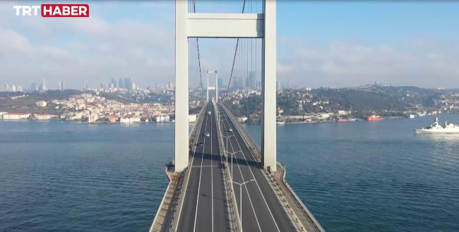 İstanbul Boğazı'nda tehlikeli trafik