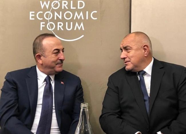 Dışişleri Bakanı Mevlüt Çavuşoğlu, Bulgaristan Başbakanı Boyko Borisov ile görüştü.