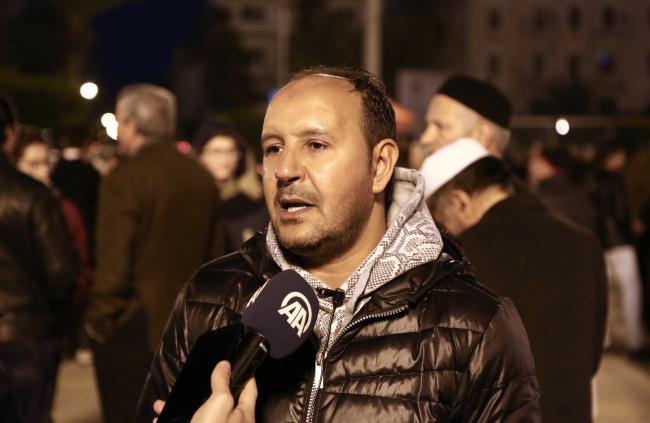 Libya Petrol Sahası çalışanı Ali Karavan | Fotoğraf: AA