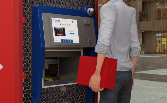 7/24 hizmet verecek 'Kargo ATM'si'