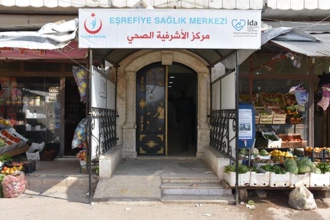 Afrin'deki Eşrefiye Sağlık Merkezi - Fotoğraf: AA