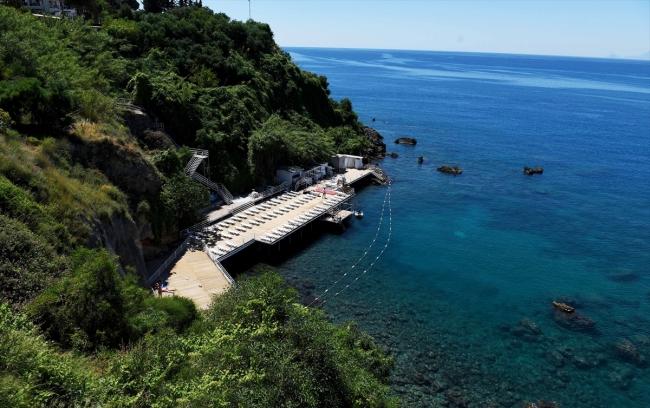 Turizmin başkenti Antalya'da Falezler sezona hazır
