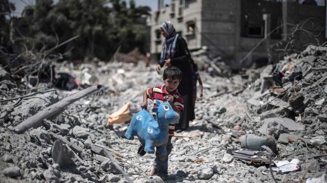 Mahkeme, İsrail'in 2014 yılında Gazze'ye yaptığı saldırılarda işlenmiş olabilecek savaş suçları da soruşturabilecek. Fotoğraf: AA