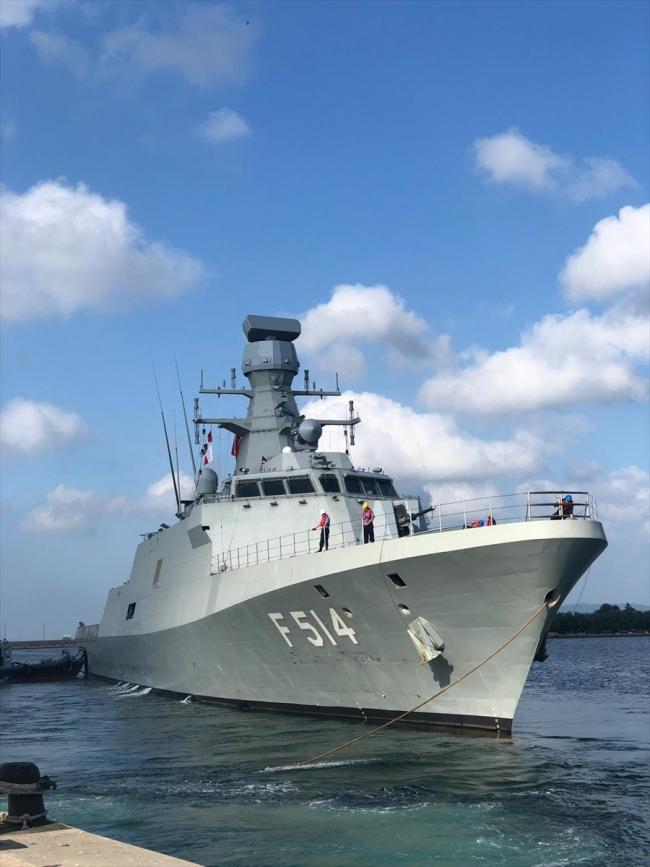 MİLGEM Projesi'nin 4'üncü gemisi olan TCG Kınalıada.