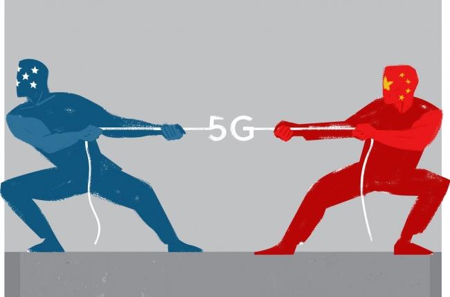 5G teknolojisi ABD ve Çin'i çok farklı alanlarda karşı karşıya getirdi. Çalışma: Linas Garsys/The Washington Times