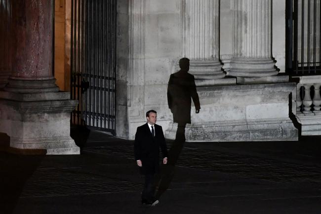 Fransa Cumhurbaşkanı Macron, yaşananların ardından bazı büyükelçileri Paris'e çağırdı. Foto: AFP