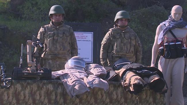 TSK'nın korkusuz kahramanları Azerbaycan ordusunu eğitiyor