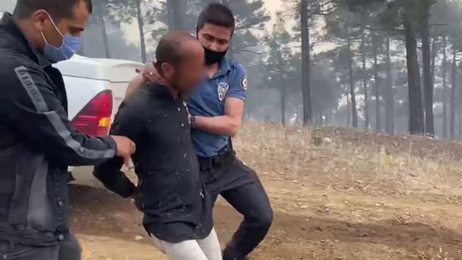 Adana'da orman yangını: 1 kişi yakalandı