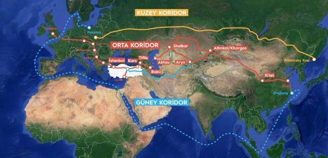 Bölgedeki kriz hem enerji denklemine hem de Çin'in 'kuşak-yol' projesine etki edebilir.