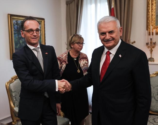 Cumhurbaşkanı Erdoğan Almanya Dışişleri Bakanı'nı kabul etti
