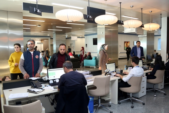 Mersin şehir Hastanesi 2 Yılda 55 Milyon Hastaya Hizmet Verdi