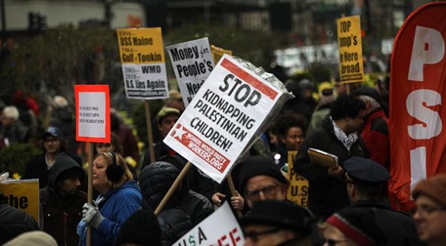 YAHUDİLER, İSRAİL'İN GAZZE'DE UYGULADIĞI ŞİDDETİ PROTESTO ETTİ - Son Dakika  Haberleri