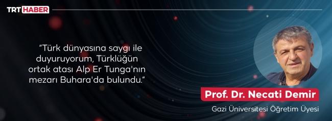 Alp Er Tunga'nın mezarı nasıl bulundu? Ayrıntılar ilk kez TRT Haber'de