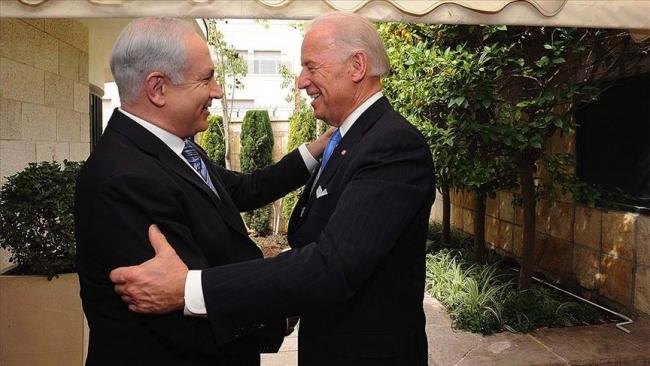 İsrail Başbakanı Binyamin Netanyahu ve ABD Başkanı Joe Biden. Fotoğraf: AA / Arşiv
