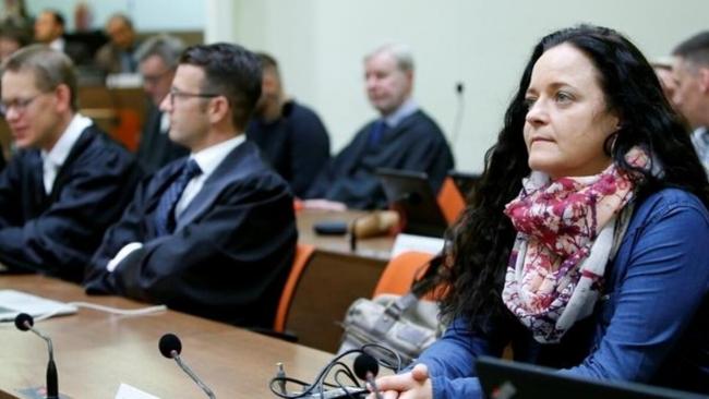 NSU mensubu Beate Zschaepe, ömür boyu hapse mahkum edilmişti.