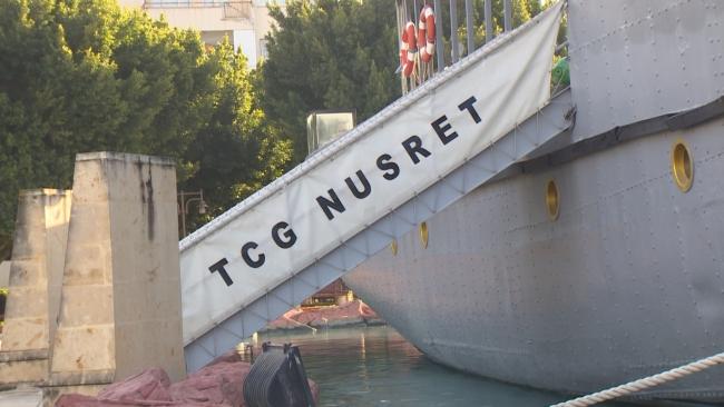 Çanakkale destanının tanığı: Nusrat Mayın Gemisi