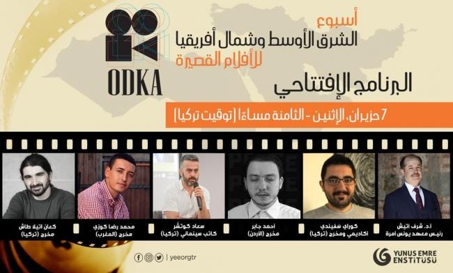 ODKA Kısa Film Haftası başladı