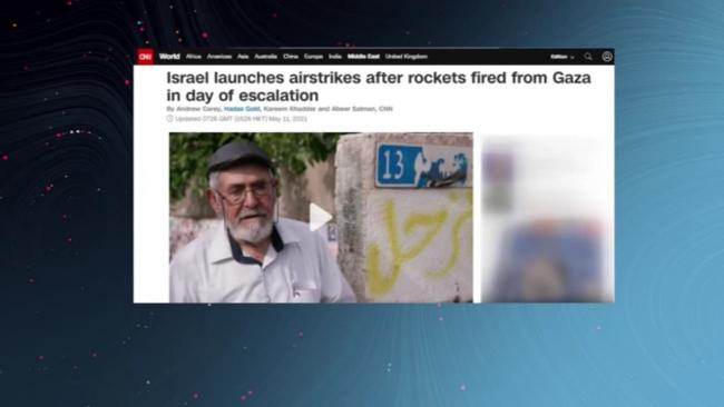 Western media hides Israeli violence