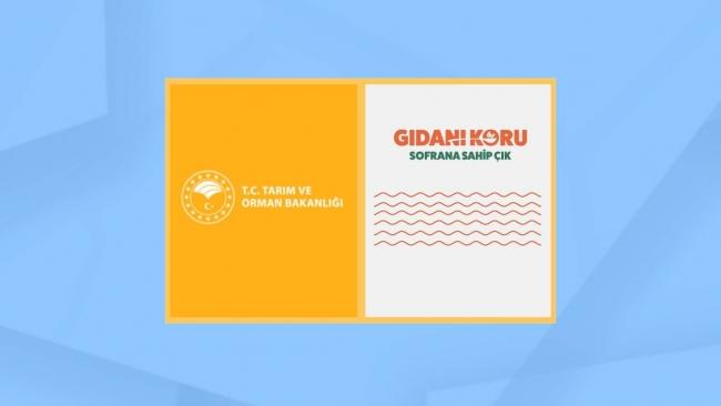 """""""Gıdanı Koru, Sofrana Sahip Çık"""" kampanyası ile israf önleniyor"""