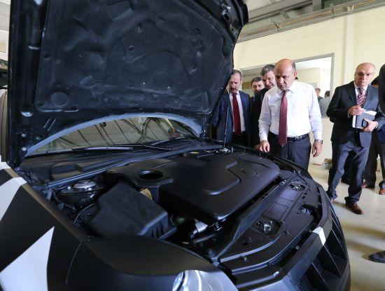 Yerli Otomobilde Saab 9-3'ün platformu kullanılacak