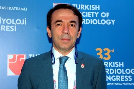 Türk Kardiyoloji Derneği Başkanı Prof. Dr. Mustafa Kemal Erol.