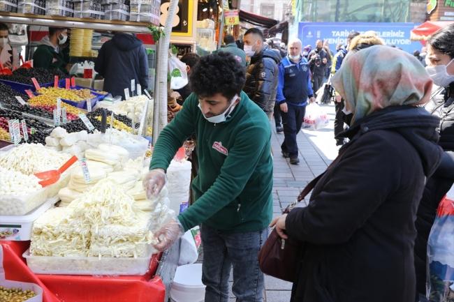 Ramazan öncesi İstanbul'da alışveriş yoğunluğu yaşanıyor