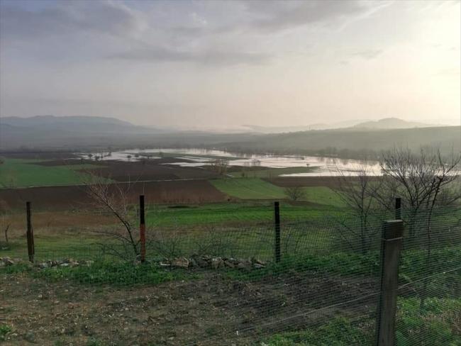 Bursa'da sağanak 35 bin dönüm araziyi su altında bıraktı