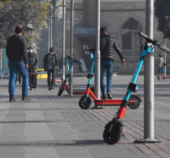 Elektrikli scooter yasalaşıyor