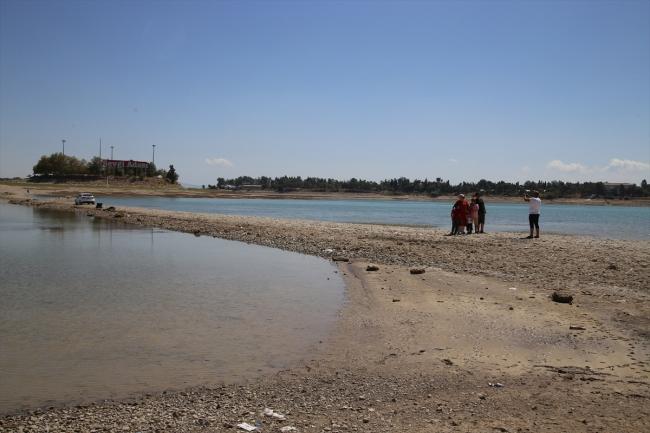 Akşehir Gölü tamamen kurudu
