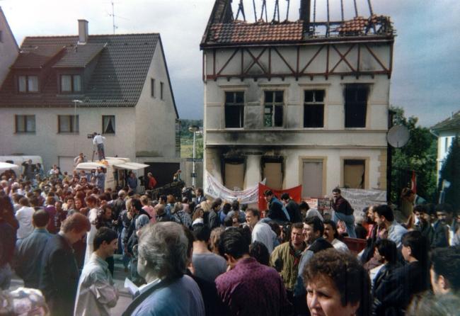Solingen'deki ırkçı saldırıda aynı aileden 4 Türk hayatını kaybetmişti.