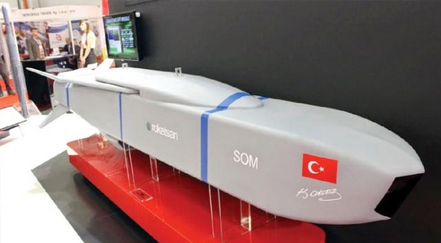 SOM füzelerinin yerli ve milli insansız hava araçlarında kullanılabilmesi için çalışmalar sürüyor.