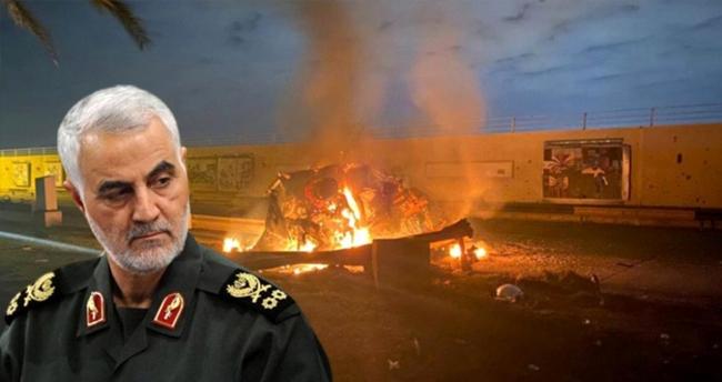 İran Devrim Muhafızları Komutanı Kasım Süleymani 3 Ocak 2020'de hayatını kaybetmişti.