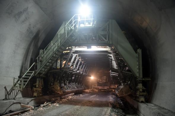 Dunyanin En Uzun Ikinci Tuneli Olacak