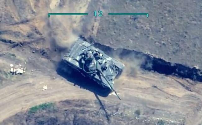 Son derece hassas vuruş kabiliyetine sahip MAM-L, zayıf yerlerinden vurduğu tankların savaş dışı kalmasına neden oluyor.