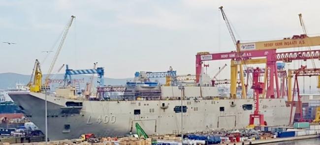 TCG Anadolu, Türk Donanması için yeni bir başlangıcın mihenk taşlarından biri olacak.