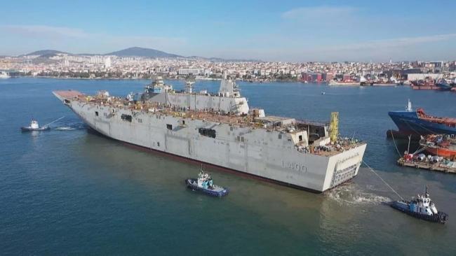 TCG Anadolu, Türkiye için denizlerde çok önemli bir güç aktarım merkezi olacak.